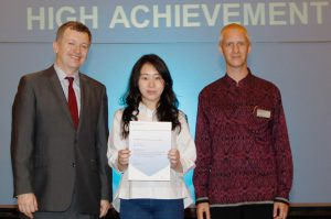 High Achievement Award for AS Level Accounting