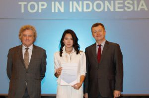 Top in Indonesia Award for AS Level English Language